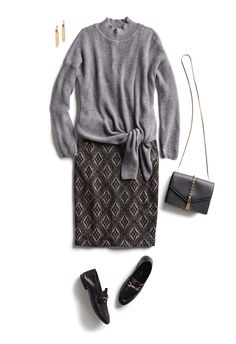 Get Inspired by Hundreds of Outfit Ideas for All Styles Holiday Outfits, New Outfits, Cool Outfits, Fashion Outfits, Runway Fashion, Casual Outfits, Women's Fashion, Fashion Trends, Loafers For Women Outfit