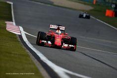 Sebastian Vettel, Ferrari, Shanghai International Circuit, Friday practice, 2015