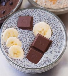 This quick and easy chia pudding recipe is great for beginners. It can be vegan gluten free paleo keto super healthy and completely delicious! Best Chia Pudding Recipe, Pudding Flavors, Pudding Recipes, Pudding Ideas, Chocolate Protein Powder, Chocolate Chip Banana Bread, Coconut Chocolate, Chocolate Oatmeal, Chocolate Fudge