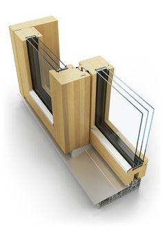dřevěné posuvné okno BLOCK | wood sliding window BLOCK