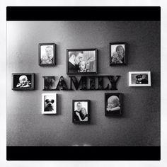 Portrait Family Wall