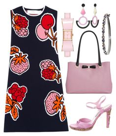 """Feel fruity ;-)"" by joannakulis on Polyvore featuring moda, Victoria, Victoria Beckham, Alberta Ferretti, Kate Spade i Givenchy"