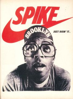 Nike advert, taken from the July 1990 issue of The Face