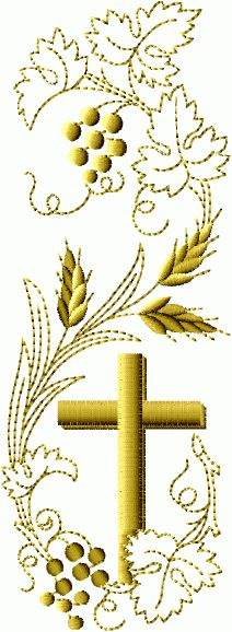 Bookmark embroidery designs