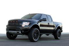 Favorite Ford Special Vehicle Team off-road F-150 Raptors