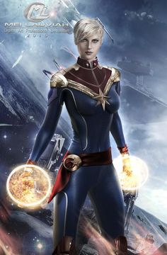 Marvel Girls, Ms Marvel, Comics Girls, Disney Marvel, Marvel Comics, Female Comic Characters, Captain Marvel Carol Danvers, Space Girl, Comic Games