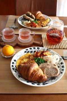 Gontoran-Sherie Breakfast Menu, Breakfast Recipes, Brunch, Western Food, Cooking Recipes, Healthy Recipes, Food Platters, Cafe Food, Aesthetic Food
