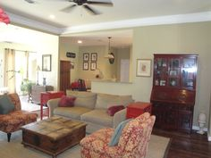 3003 Creekwood Circle in Ocean Springs, MS -this home is beautifully staged for Buyers, it offers 2150 sq ft with 4bd/2ba/2car garage, all updated with crowne moulding, granite countertops, hardwood floors, high ceilings, and fireplace in quaint Ocean Springs- The City of Discovery on the MS Gulf Coast