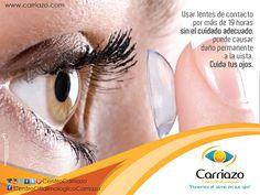 Muchas veces es más fácil retirar tus lentes de contacto si aplicamos una gota de lubricante ocular (lágrimas artificiales) recomendada por el profesional ya que permite que el retiro del lente sea más suave. #TipsCarriazo #optometria #lentesdecontacto #SaludVisual