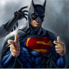 Superman steals the cowl   #ComicsAndCoffee