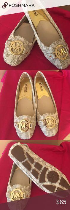 Michael Kors Fulton Logo Flat shoes never worn Michael Kors Fulton Logo flat shoes - never worn   Size 7.5M. Beautiful! MICHAEL Michael Kors Shoes Flats & Loafers