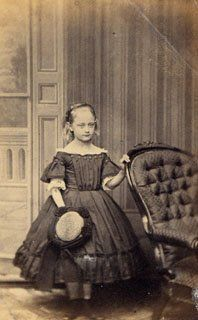 1860s girl in england