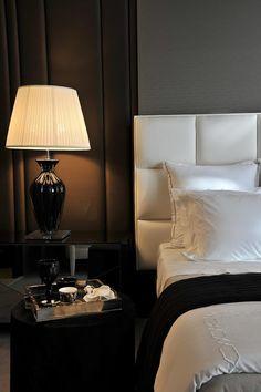 Beautiful bedroom by Christina Hamoui.