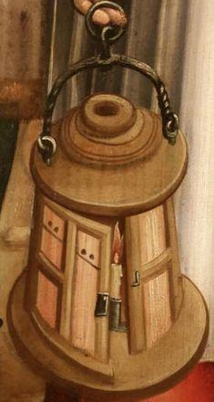 Medium Aevum Meister der hl.Sippe um 1503,Köln W.R.Museum Medieval Life, Medieval Art, Lantern Lamp, Candle Lanterns, Medieval Furniture, Antique Lanterns, Armadura Medieval, Camping Lights, Historical Art