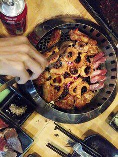 Buffet nướng tại Hana BBQ & Hot Pot Buffet - Điện Biên Phủ