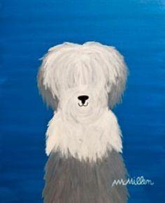 Folk dog art   # Pinterest++ for iPad #