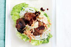 Hoisin+Meatball+Lettuce+Cups++With+Spicy+Slaw