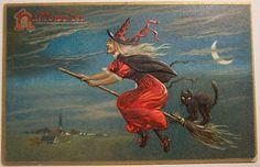Vintage Halloween Postcard   Tuck series 150 | by riptheskull