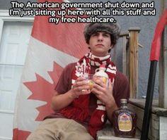 canada makes fun of america