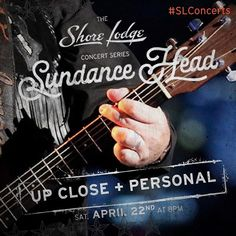 Have you purchased your tickets yet?! Don't miss an intimate performance by @SundanceHead during his only Idaho #concert! Click the link in our bio to find out more. #LiveMusic #ConcertSeries #McCallIdaho