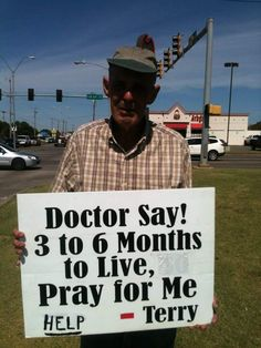 CALLING ALL PRAYER WARRIORS!!! *** Please keep Terry in your prayers!!! I don't know his last name or his story, but God does! Amen!!! Please stand in faith and agreement for God to work a supernatural miracle in him, and heal him completely to 100% healthy and whole!!! In Jesus mighty and awesome name!!! Please share and keep this prayer chain going!!! Thanks and God bless you!!! <3