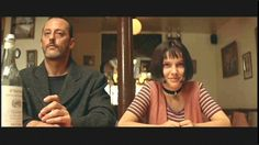 Leon (Jean Reno) and Mathilda (Natalie Portman) in The Professional.