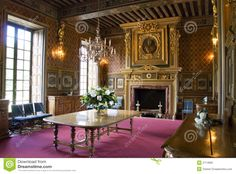 Interior Of Chateau Cheverny Royalty Free Stock Photo - Image: 2714895