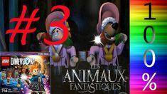 LEGO Dimension FR Story Pack 100%  Les Animaux Fantastiques  Episode #3