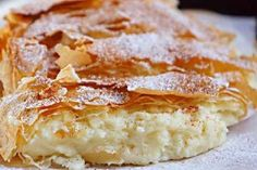 """bakery products- выпечка Greek cake """"Bugats"""" The north of Greece is especially popular among tourists for a number of reasons. One of them is local cuisine. What could be better than enjoying amazing food and amazing nature while relaxing … - Cookie Recipes, Dessert Recipes, Desserts, Greek Cake, Romanian Food, Something Sweet, Bakery, Food And Drink, Yummy Food"""