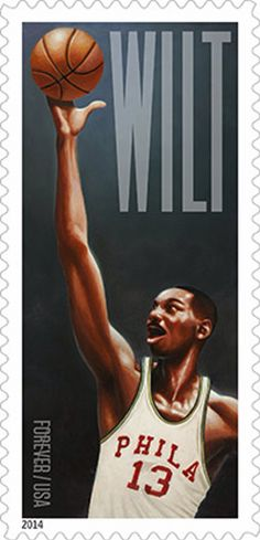 The U.S. Postal Service and the Philadelphia 76ers (Along with the NBA) will formally dedicate the Wilt Chamberlain Forever stamps in a halftime ceremony at a Dec. 5 game against Oklahoma City.