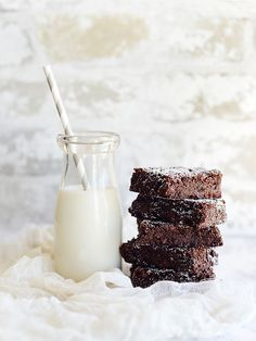 Outrageous Brownies by Fit, fun & delish!