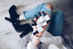 Test lakierów hybrydowych marki NOX od Bliźniaczek Laskowskich.Gorąco polecamy! Pedicure, Nail Art, Nails, Fashion, Finger Nails, Pedicures, Moda, Ongles, La Mode