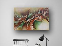 Abstract Painting Large Original Painting von heatherdaypaintings