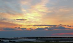 You will see some amazing sunrise colors at the beach at Kiawah Island, south Carolina.