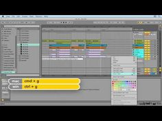 Ableton Live: Organizing Your Tracks
