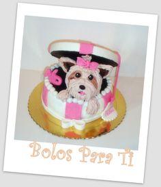 Bolo Cãozinho www.bolosparati.com