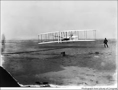 The Wright Flyer from Library of Congress .