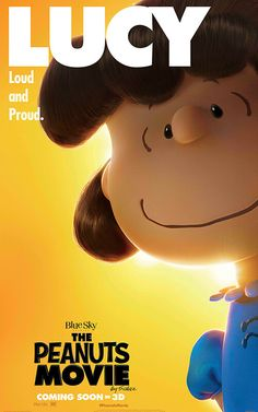 The Peanuts Movie poster of Lucy