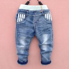new18M-6Y summer Spring boy jeans pants autumn children jeans child denim pants children trousers Free shipping - Kid Shop Global - Kids & Baby Shop Online - baby & kids clothing, toys for baby & kid Baby Jeans, Denim Jeans Men, Jeans Pants, Harem Pants, Trousers, Baby Boy Outfits, Kids Outfits, Baby Shop Online, Boys Pants
