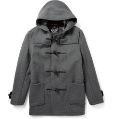 GloverallWool-Blend Duffle Coat