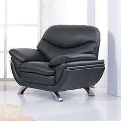 Sinclair Black Leather Mars Metal Club Chair | Notre Dame Condo | Pinterest  | Arms, Metals And Upholstery