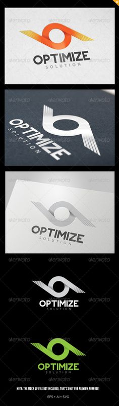 Optimize Solution - Logo Design Template Vector #logotype Download it here: http://graphicriver.net/item/optimize-solution-logo/5812828?s_rank=742?ref=nesto