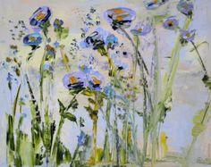 Grand Art Original peinture à l'huile sur par ForestSandandAir