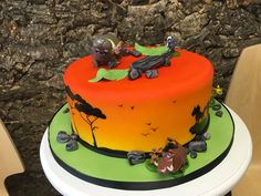 Safari Birthday Cakes, Desserts, Kids, Food, Tailgate Desserts, Children, Deserts, Boys, Essen