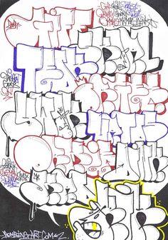 flop font graffiti