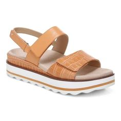 Women's Comfortable Sandals with Arch Support | Vionic Shoes Stylish Sandals, Comfortable Sandals, Supportive Sandals, Plantar Fasciitis Shoes, Summer Shoes, Your Shoes, Leather Sandals, Me Too Shoes, Fashion Shoes