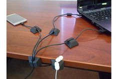 Cord-eeZ Cable Clips, Cord Organizer and Cable Management