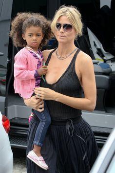 in love with Heidi Klum's daughter!