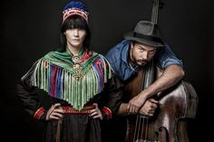 Arvvas consists of yoiker Sara Marielle Gaup and bassist and singer Steinar Raknes. Together they create music that is a meeting between joik and americana. Folk Music, Orchestra, 21st Century, Scandinavian, Jazz, Singing, Pure Products, Twists, Acoustic