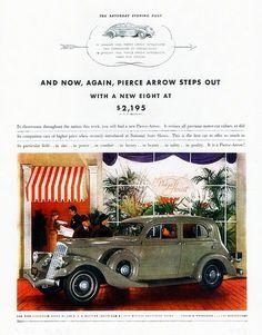 1934 Pierce-Arrow Five Passenger Sedan | by aldenjewell